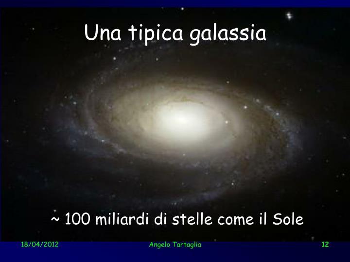 Una tipica galassia