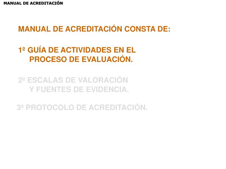 MANUAL DE ACREDITACIÓN