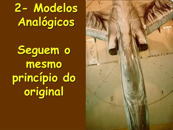 2- Modelos Analógicos