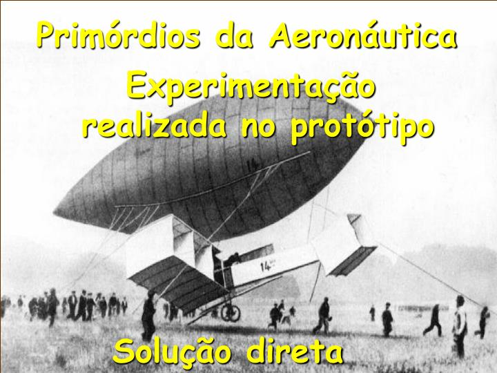 Primórdios da Aeronáutica