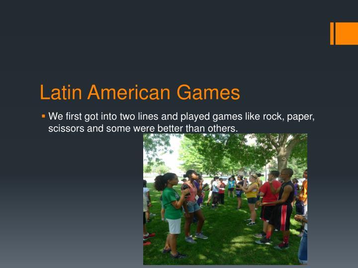 Latin American Games