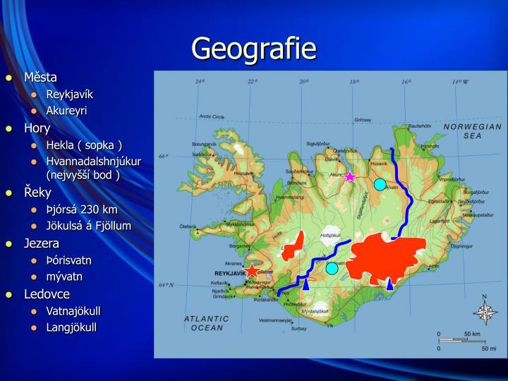 Geografie