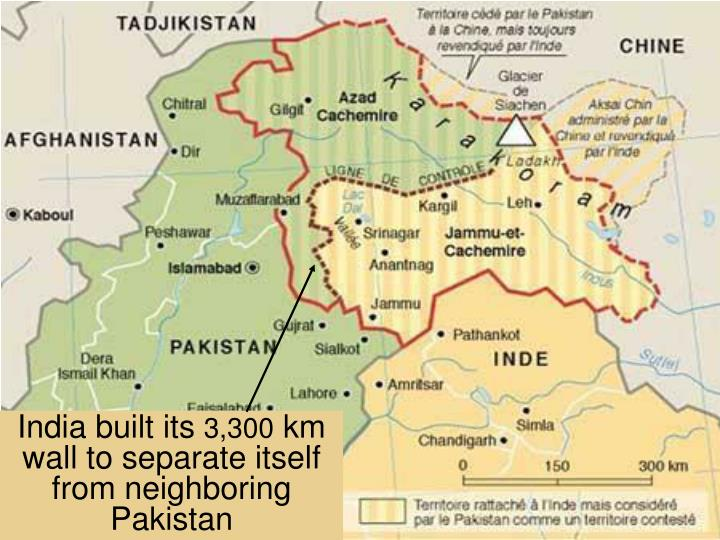 India built its