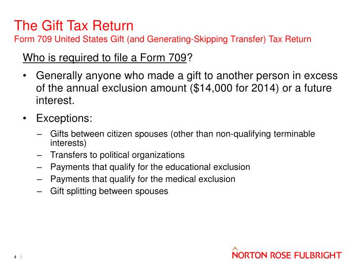When Is Form 709 Gift Tax Return Required To Be Filed Oukasfo