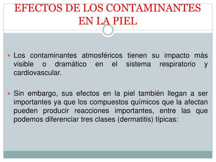 PPT - LA CONTAMINACIÓN ATMOSFÉRICA Y LA SALUD PowerPoint