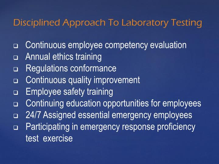 Continuous employee competency evaluation