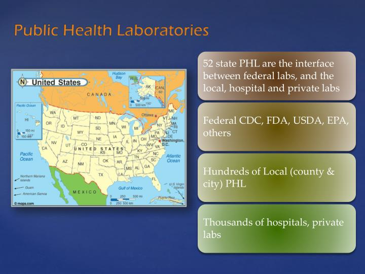 Public Health Laboratories
