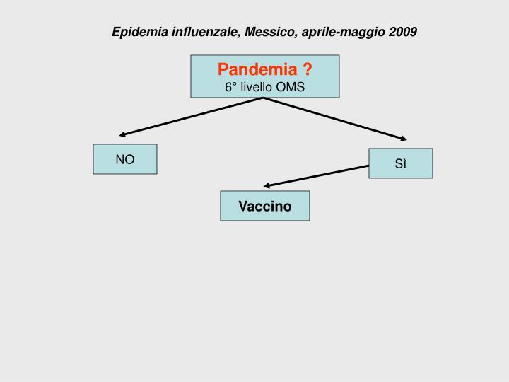 Epidemia influenzale, Messico, aprile-maggio 2009