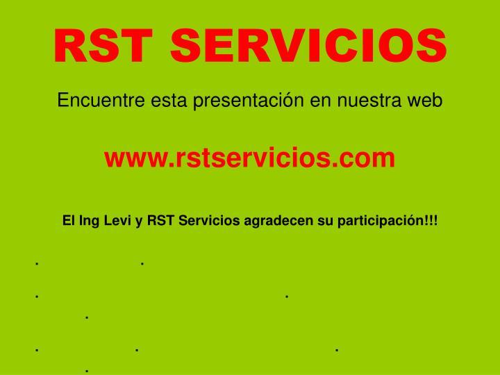 RST SERVICIOS