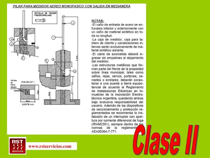 Clase II