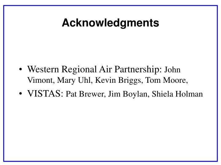 Western Regional Air Partnership: