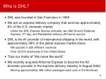 who is dhl