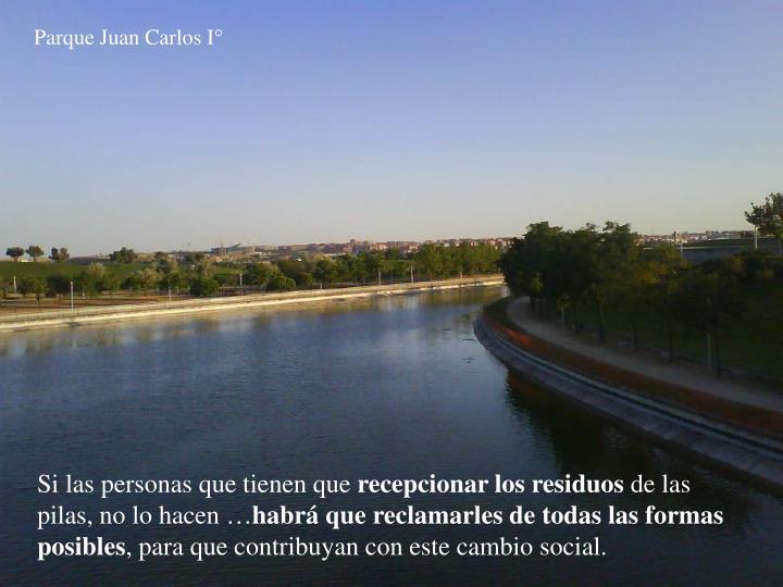 Parque Juan Carlos I°