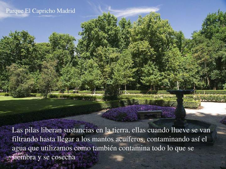 Parque El Capricho Madrid