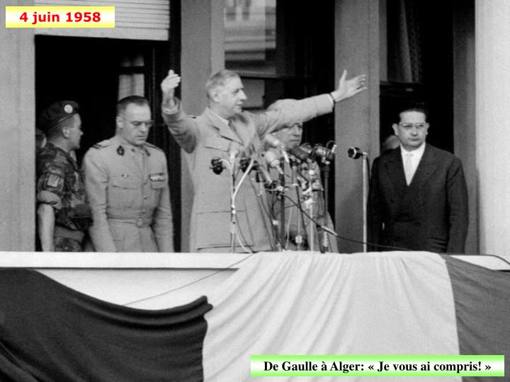 4 juin 1958