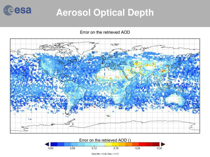 Aerosol Optical Depth