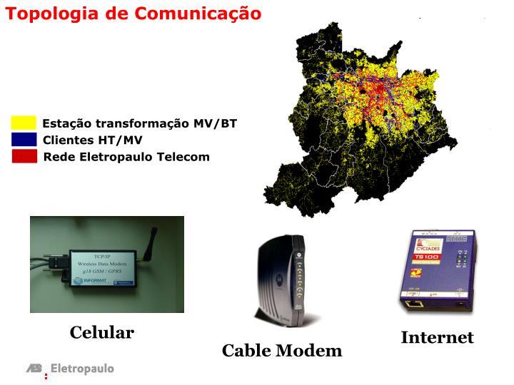 Estação transformação MV/BT