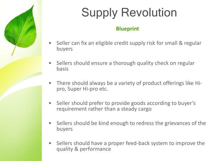 Supply Revolution