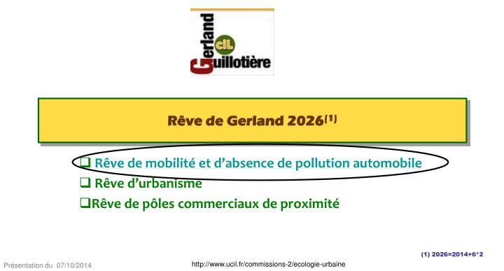 Rêve de Gerland 2026