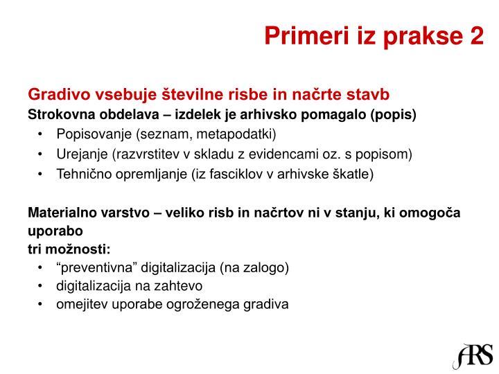 Primeri iz prakse 2