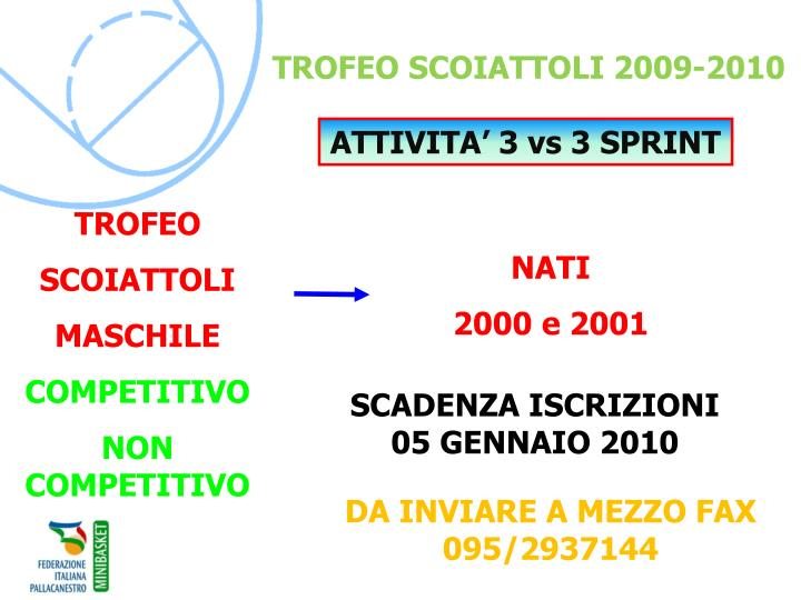 TROFEO SCOIATTOLI 2009-2010