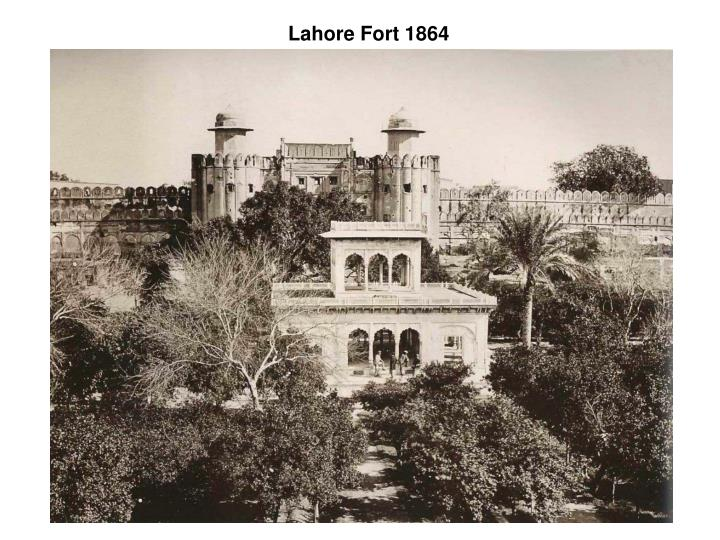 Lahore Fort 1864