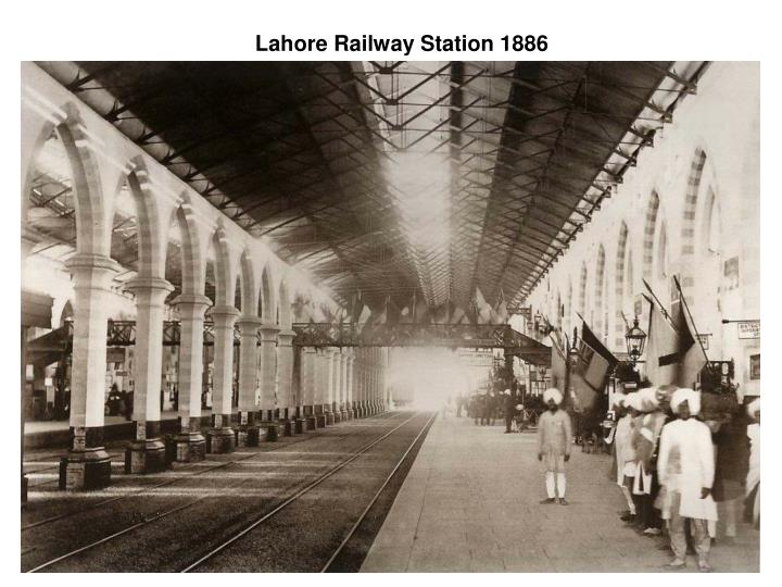 Lahore Railway Station 1886