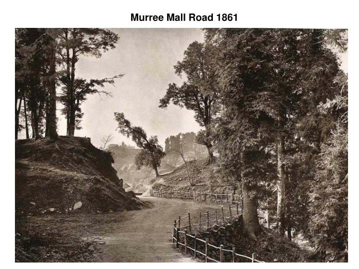 Murree mall road 1861