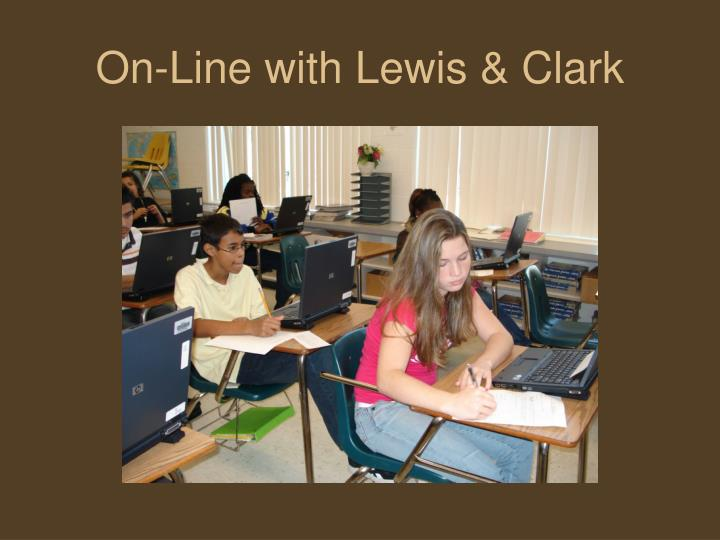 On-Line with Lewis & Clark