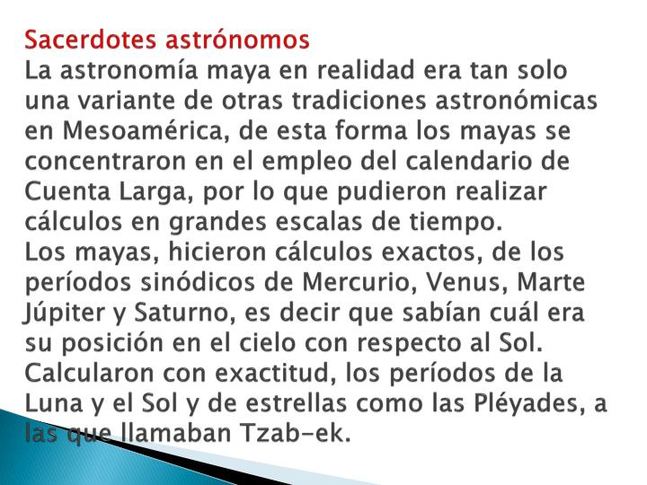 Sacerdotes astrónomos