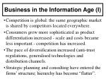 business in the information age i