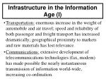 infrastructure in the information age i