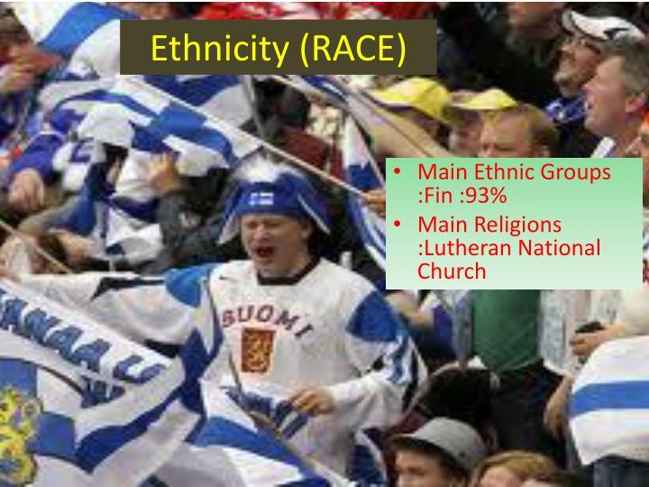 Ethnicity (RACE)
