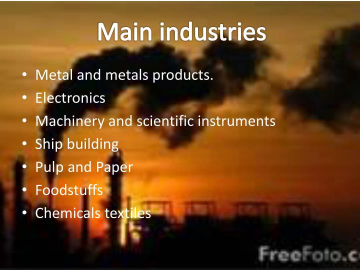 Main industries