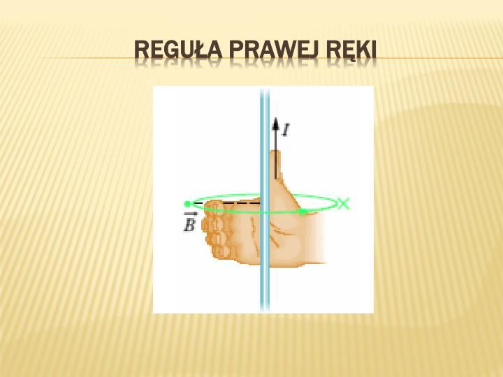 Reguła prawej ręki