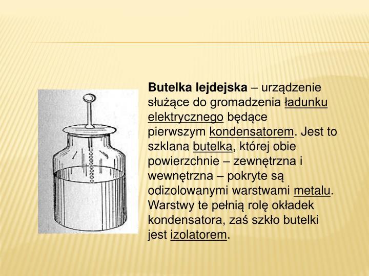 Butelka lejdejska