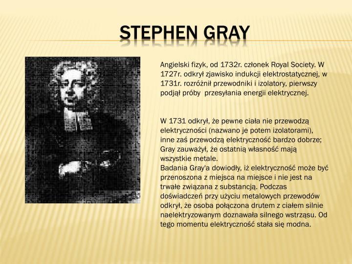 Stephen Gray