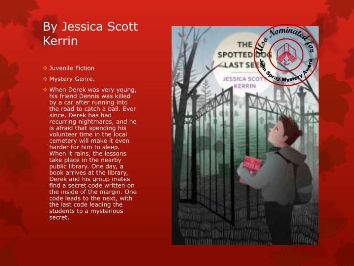 By Jessica Scott
