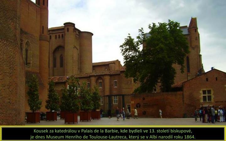 Kousek za katedrálou v