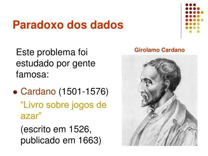 Paradoxo dos dados