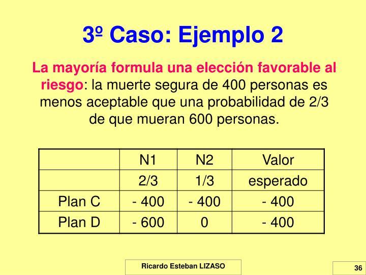 3º Caso: Ejemplo 2