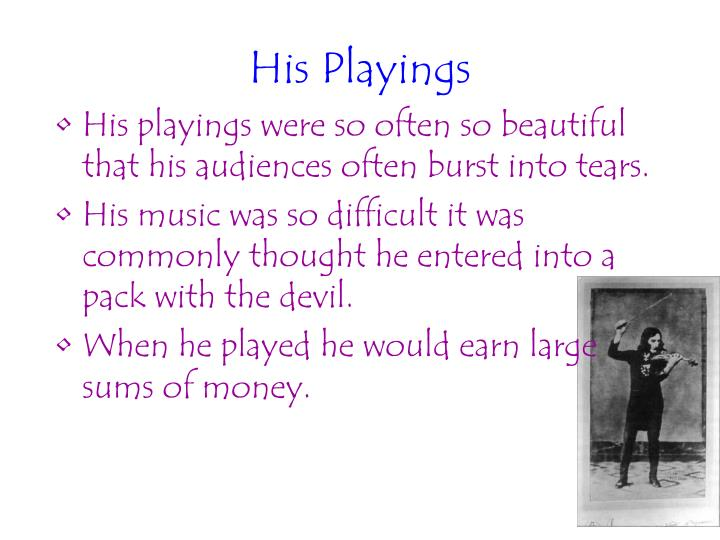 His Playings