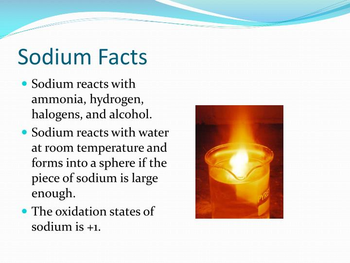 Sodium Facts