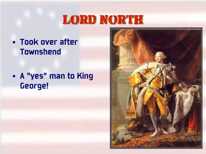 Lord North