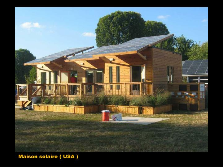 Maison solaire ( USA )