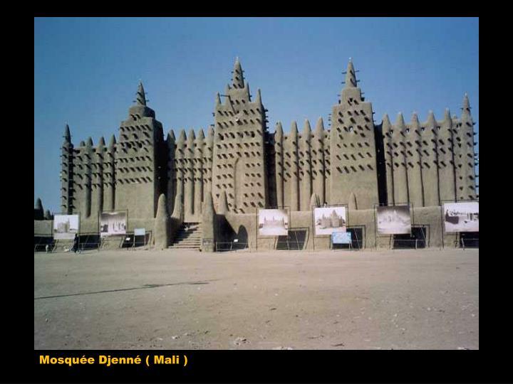 Mosquée Djenné ( Mali )