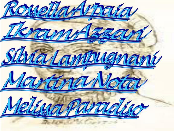Rossella Arpaia
