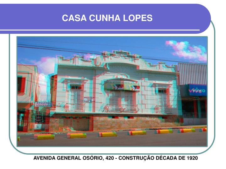 CASA CUNHA LOPES