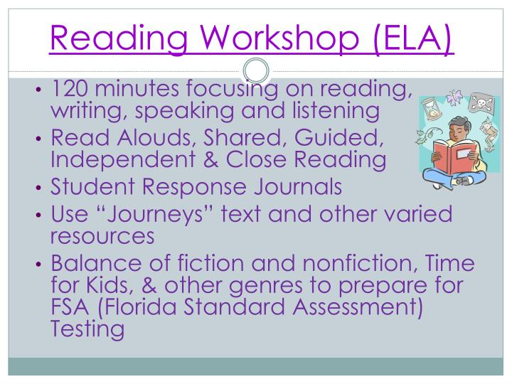 Reading Workshop (ELA)