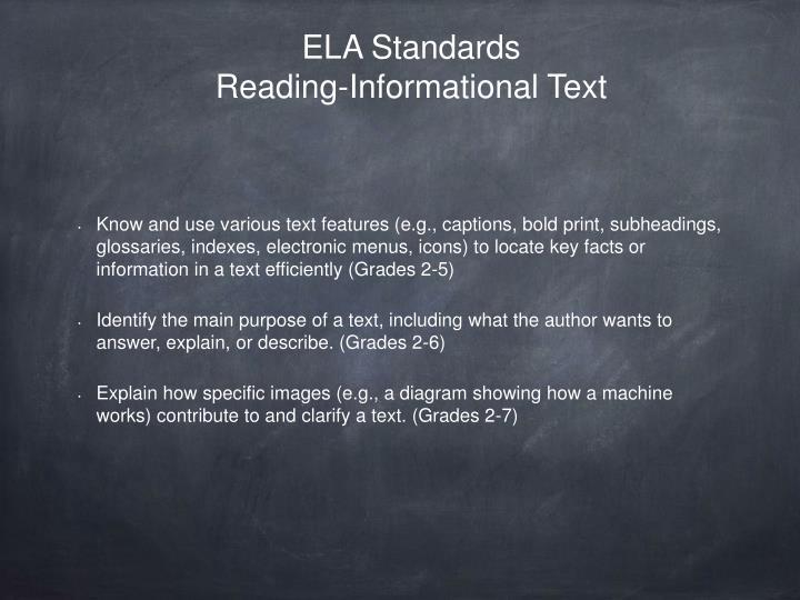 ELA Standards